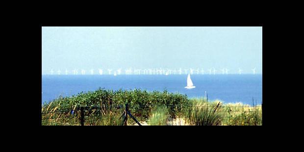 100 éoliennes en mer - La DH
