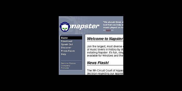 Nouveau répit pour Napster - La DH