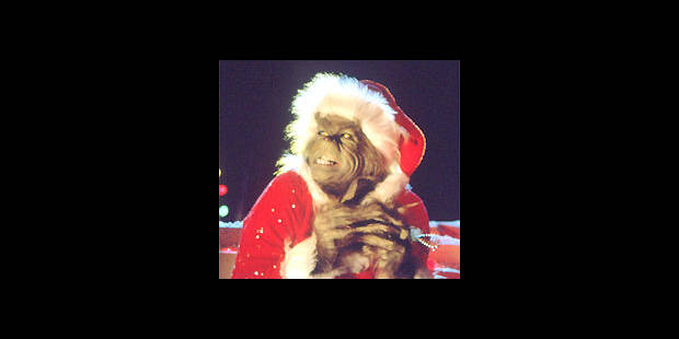 Le Grinch, un Père Noël rouge et vert! , DH Les Sports+