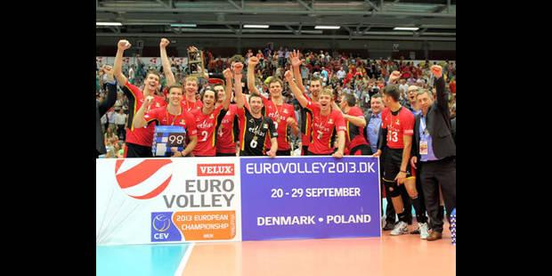 Volley: l'équipe masculine belge qualifiée pour l'Euro 2013 - La DH