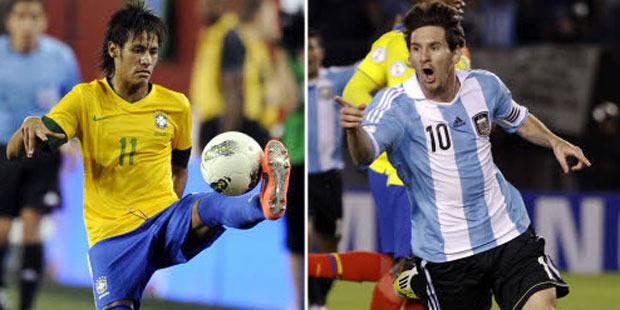 """Messi et Neymar s'affronteront dans un """"duel des géants"""" - La DH"""