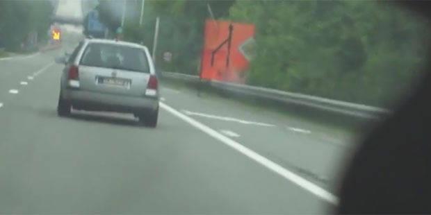 Une voiture radar de la police flashée en zone 90 à... 139 km/h - La DH