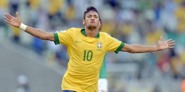 Le show Neymar face au Mexique - La DH