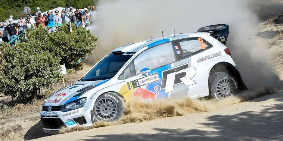 Rallye de Sardaigne: Ogier en tête après 3 spéciales, Neuville 5e