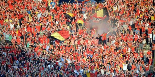 Les Diables Rouges seront soutenus par 4.200 supporters en Ecosse