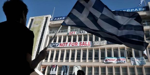 Gr�ce: la t�l�vision publique ERT �met de nouveau un signal