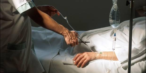 Moins d'euthanasie sans demande formelle du patient - La DH