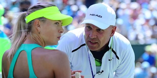 Maria Sharapova se sépare de son coach suédois - La DH