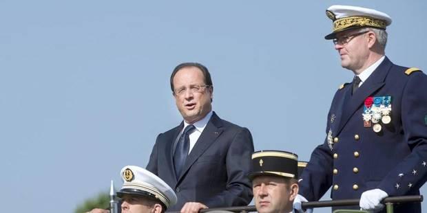 Hollande chahuté lors du défilé du 14 juillet - La DH