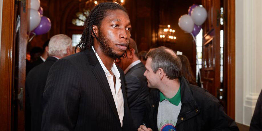 Dieumerci Mbokani auteur d'un doublé avec le Dynamo Kiev