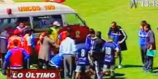 Un footballeur décède en plein match