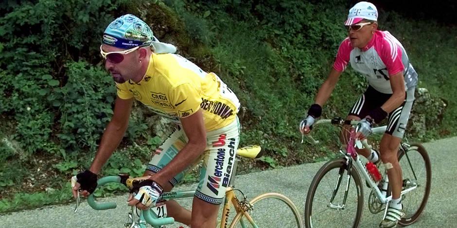 Pantani, Ullrich et Zabel positifs sur le Tour de France 1998
