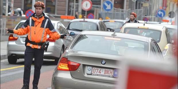 Les embouteillages à Bruxelles coûtent 511 millions - La DH