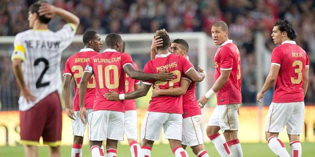 Le PSV trop fort pour Zulte Waregem (2-0)