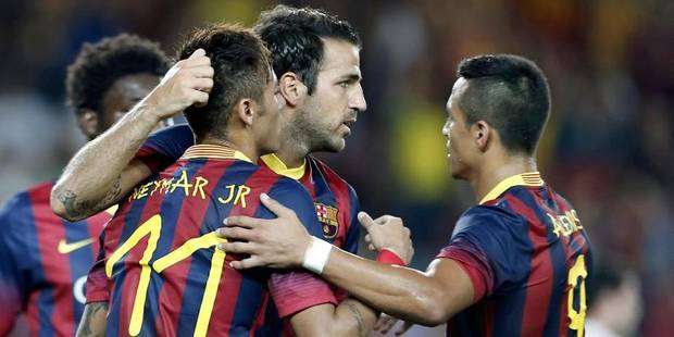 Le Barça sans pitié envers Santos - La DH