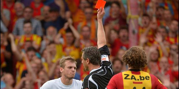 De Bock, c'est une rouge tous les 4 matchs - La DH