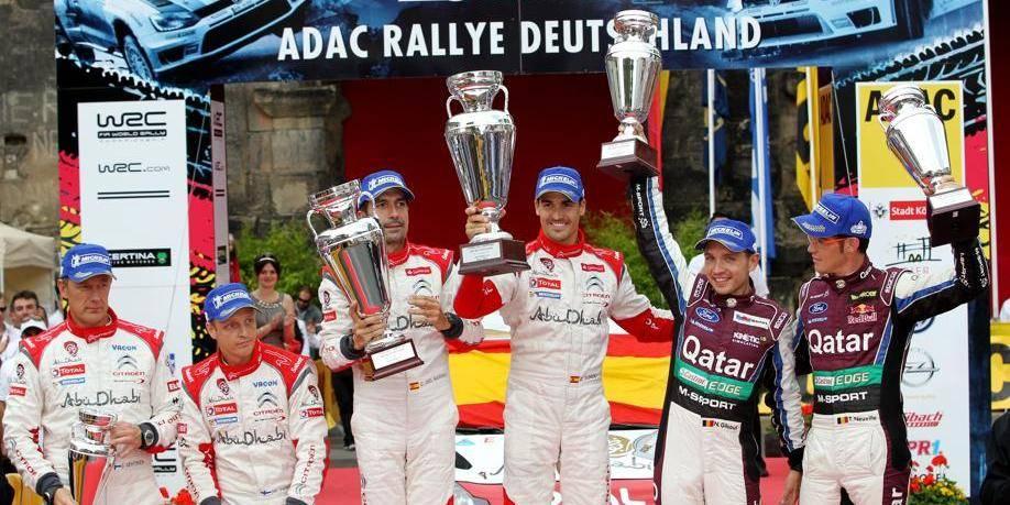 Rallye d'Allemagne: Thierry Neuville termine 2e pour 53 secondes