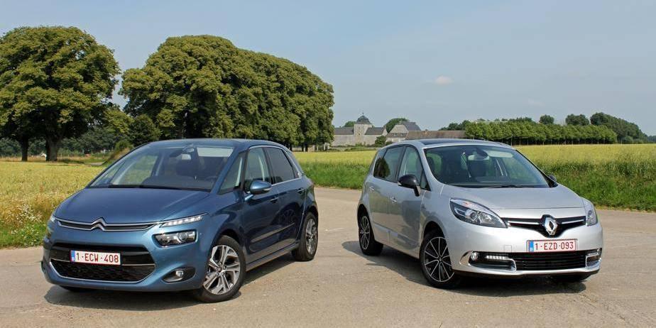 Le match de la semaine: Renault Scénic versus Citroën C4 Picasso
