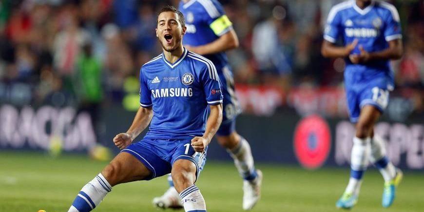Supercoupe: brillant Hazard, triste Lukaku