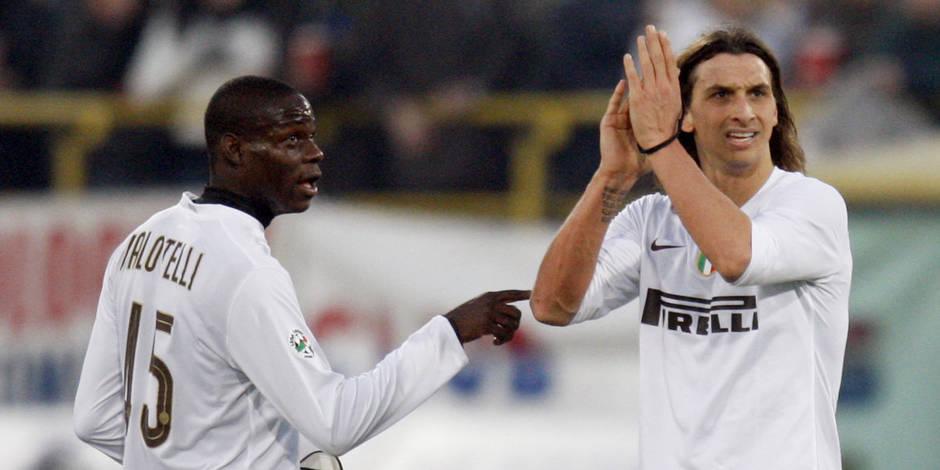 Balotelli et Ibrahimovic se chambrent