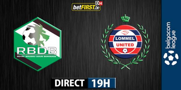 Boussu arrache le nul face � Lommel (2-2)