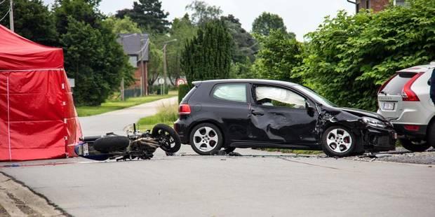 Un motard perd la vie à Noirefontaine - La DH