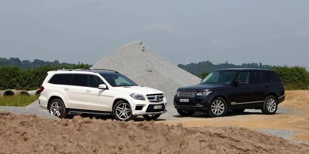 Le match de la semaine: Mercedes GL 350 Bluetec vs Range Rover TDV6 - La DH