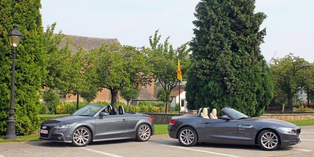 Le match de la semaine: Audi TT Roadster vs BMW Z4 - La DH