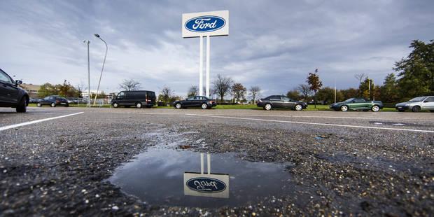 """Avis positif pour la """"pr�pension"""" des travailleurs de Ford Genk"""