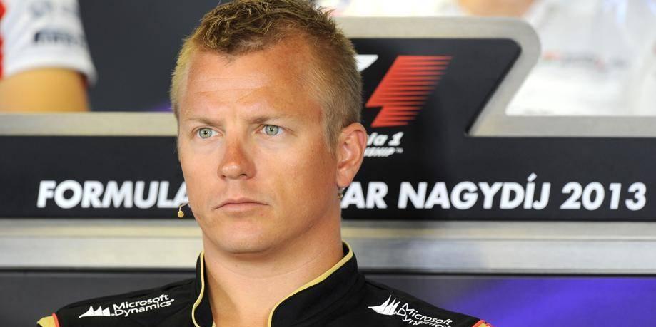 Lotus allume Raikkonen sur Twitter