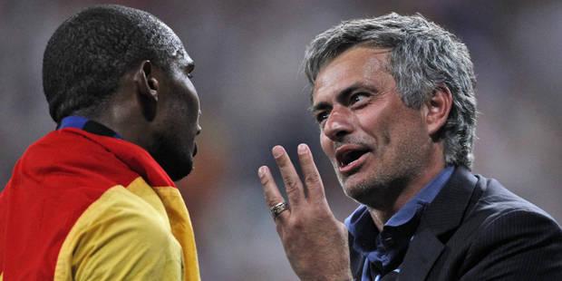 """Eto'o : """"J'avais juré de ne jamais jouer sous les ordres de Mourinho"""" - La DH"""