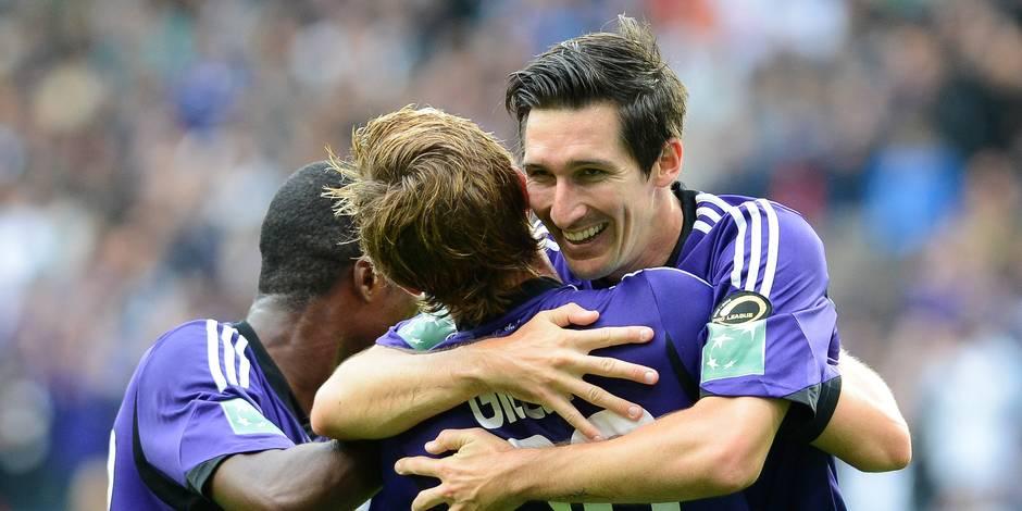 Anderlecht - Malines: la démonstration d'Anderlecht