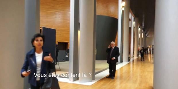 Rachida Dati se jette sur un cameraman belge - La DH