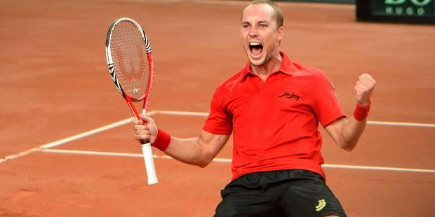 """Coupe Davis: la Belgique affrontera le Kazakhstan, """"le meilleur tirage possible"""" - La DH"""