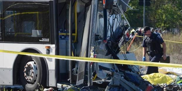 Accident entre un train et un autobus à Ottawa: 6 morts et 30 blessés - La DH