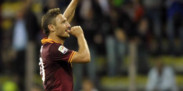 Totti à l'AS Rome jusqu'à 40 ans - La DH