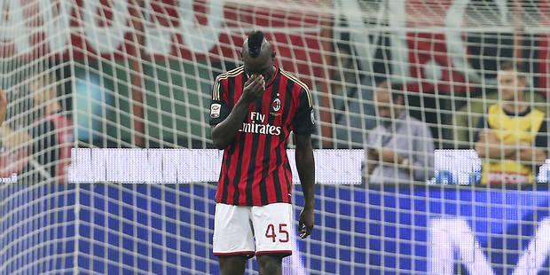 Trois matches de suspension pour Balotelli