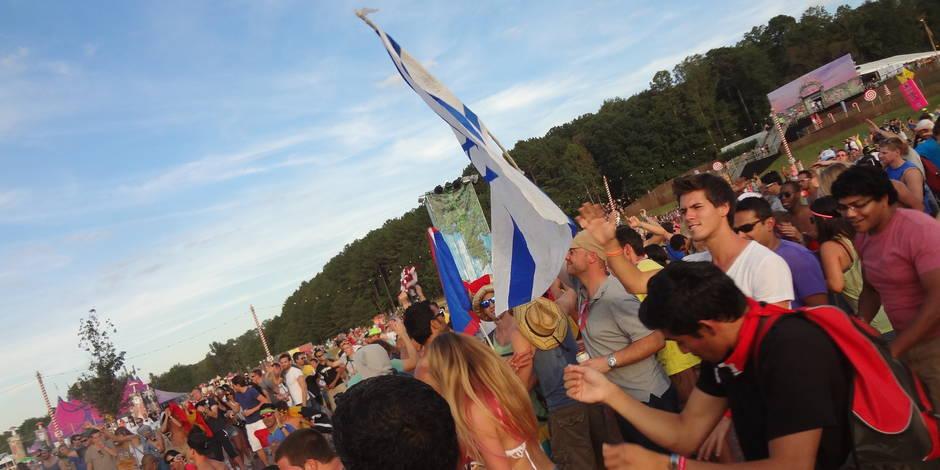 Plus de 3000 belges à TomorrowWorld