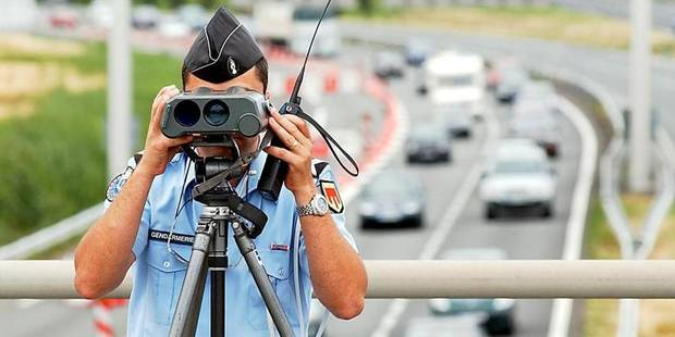Plus de 9.000 conducteurs flashés durant l'été - La DH