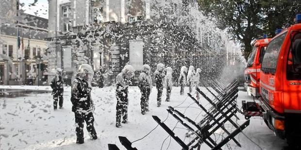 """Les pompiers prêts à bloquer """"gares et aéroport"""" - La DH"""