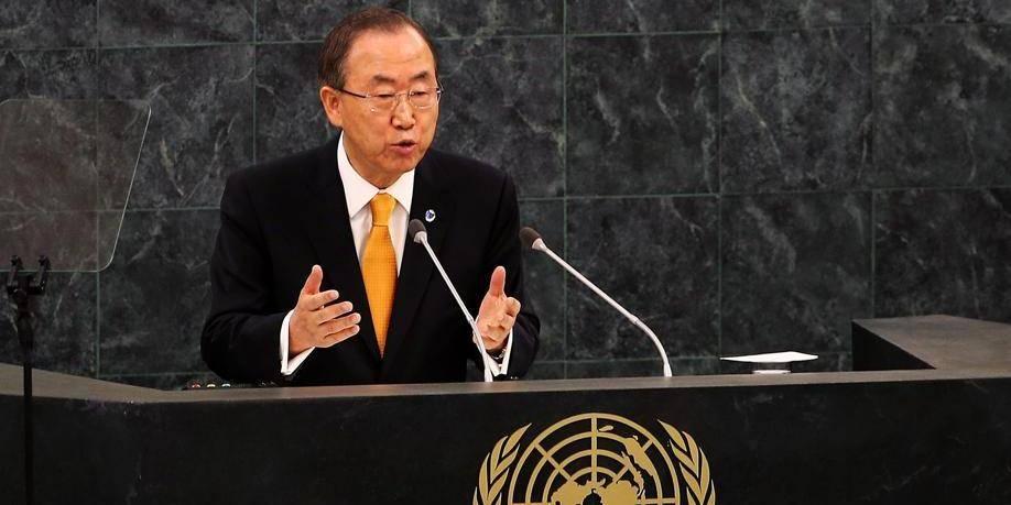 Armes chimiques: Ban Ki-moon prône l'envoi d'une centaine d'hommes en Syrie