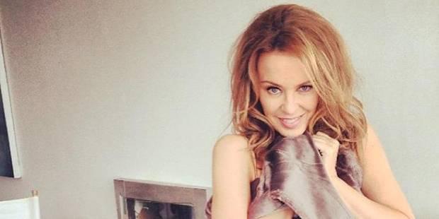 Kylie Minogue est célibataire - La DH