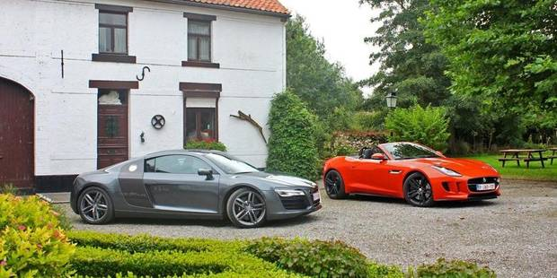 Le match de la semaine: Audi R8V8 vs Jaguar F-Type V8 S - La DH
