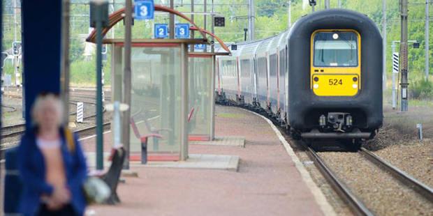 Un jeune happ� � Pommeroeul: il n'a pas entendu le train arriver