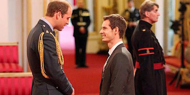 Le prince William décore Murray et prend du galon - La DH