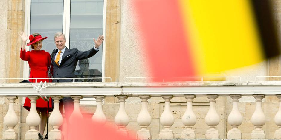 5.000 personnes à Arlon pour acclamer le couple royal