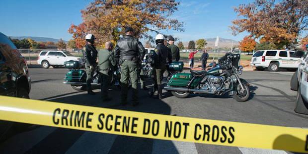 Fusillade dans une �cole du Nevada: deux morts