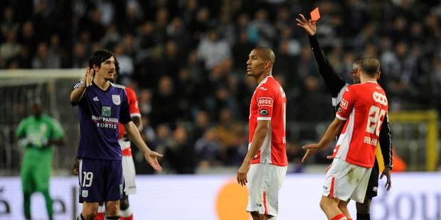 Les arbitres moins sévères avec Anderlecht? - La DH