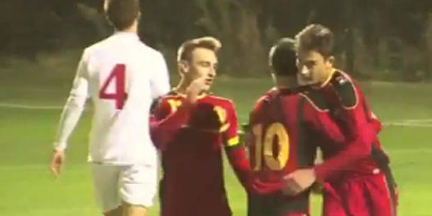 Un U18 belge se prend pour Maradona et plante un but sublime - La DH