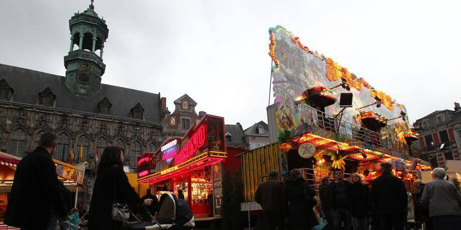 La fête foraine 2013 est installée à Mons